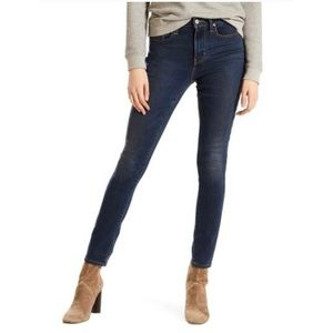 (Sold) Levi's 721 High Rise Skinny Stretch Jeans